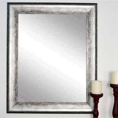 Decorative – Silver Metallic – Rectangle – Mirrors – Wall Decor In Ornate Floor Mirrors (#16 of 30)