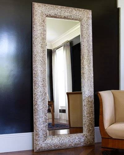 Decorative Wall & Floor Mirrors At Neiman Marcus Regarding Victorian Floor Mirrors (#11 of 30)