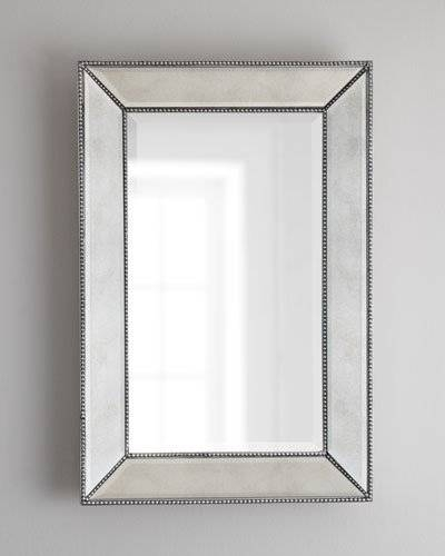 Decorative Wall Mirrors & Floor Mirrors At Horchow In Black Bevelled Mirrors (#13 of 20)