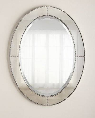 Decorative Wall Mirrors & Floor Mirrors At Horchow Intended For Bevelled Oval Mirrors (#10 of 20)