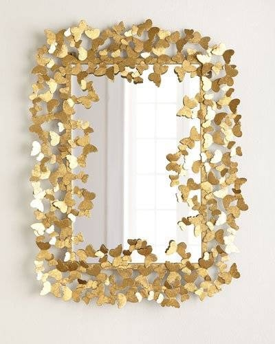 Decorative Wall Mirrors & Floor Mirrors At Horchow Pertaining To Gold Heart Mirrors (#13 of 30)