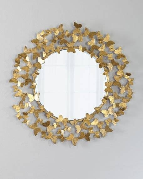 Decorative Wall Mirrors & Floor Mirrors At Horchow Throughout Fancy Mirrors (#17 of 30)