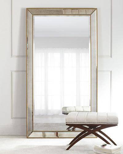 Decorative Wall Mirrors & Floor Mirrors At Horchow Throughout Victorian Floor Mirrors (#12 of 30)