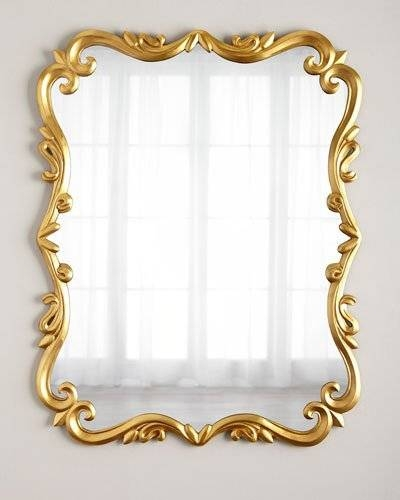 Decorative Wall Mirrors & Floor Mirrors At Horchow With Regard To Brass Mirrors (#6 of 15)