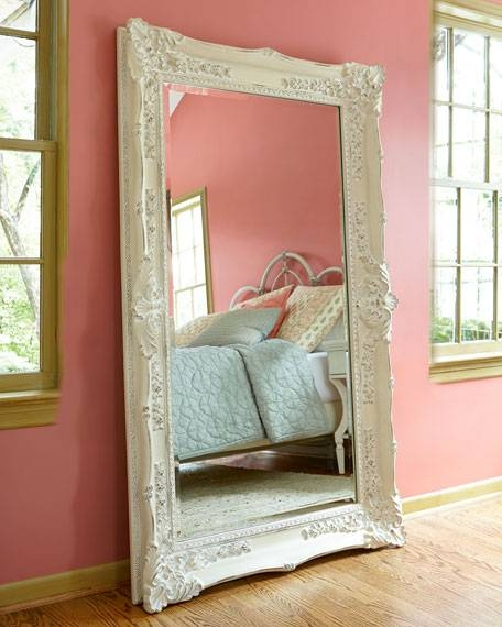 Decorative Wall Mirrors & Floor Mirrors At Horchow With Regard To Vintage Stand Up Mirrors (#23 of 30)