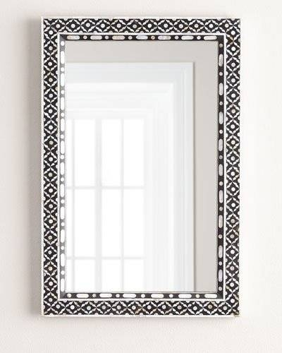 Decorative Wall Mirrors & Floor Mirrors At Horchow Within Mother Of Pearl Wall Mirrors (#15 of 30)