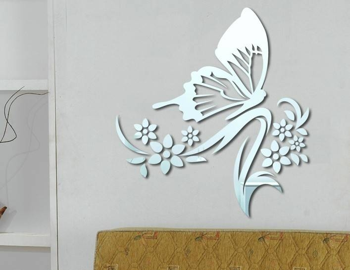 Decorative Wall Mirrors | Http://lomets Pertaining To Butterfly Wall Mirrors (#15 of 20)