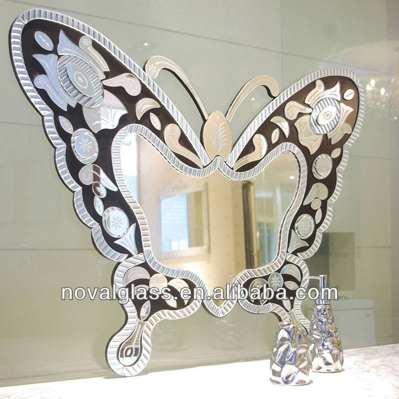 Popular Photo of Butterfly Wall Mirrors
