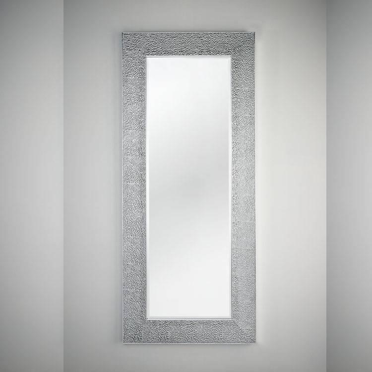 Deknudt Ondule Mirror Silver | Round Swirl Mirrors | 4 Living Inside Modern Silver Mirrors (#7 of 20)