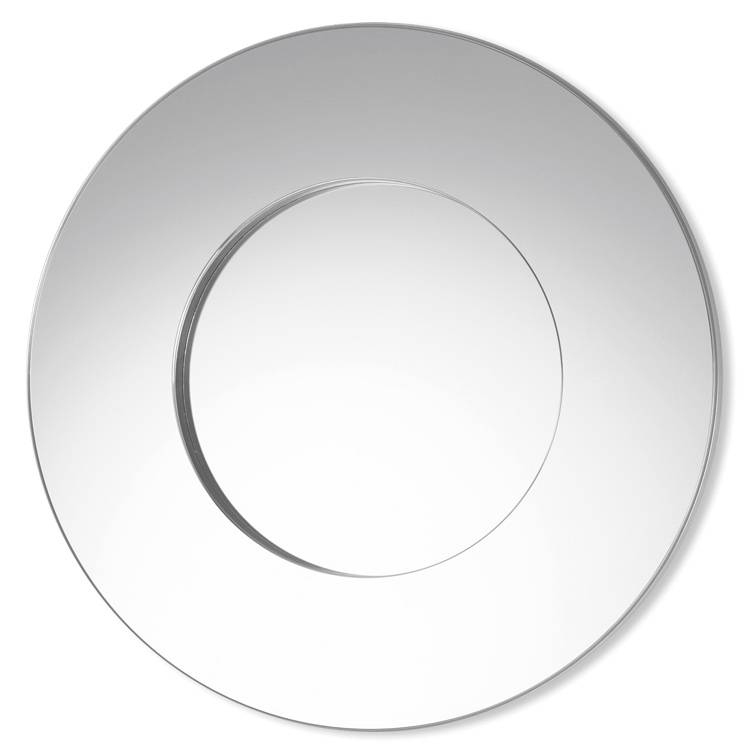 Inspiration about Deknudt Rondo Round Wall Mirror | Contemporary Modern Mirror |4Living Throughout Designer Round Mirrors (#2 of 20)