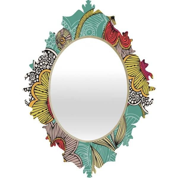 Deny Designs Valentina Ramos Beatriz Baroque Wall Mirror & Reviews In Baroque Wall Mirrors (#10 of 20)