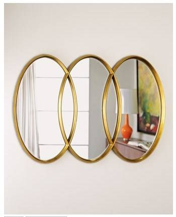 Design On Sale Daily: Triple Take On An Oval Mirror! | Cococozy With Triple Oval Mirrors (#2 of 20)