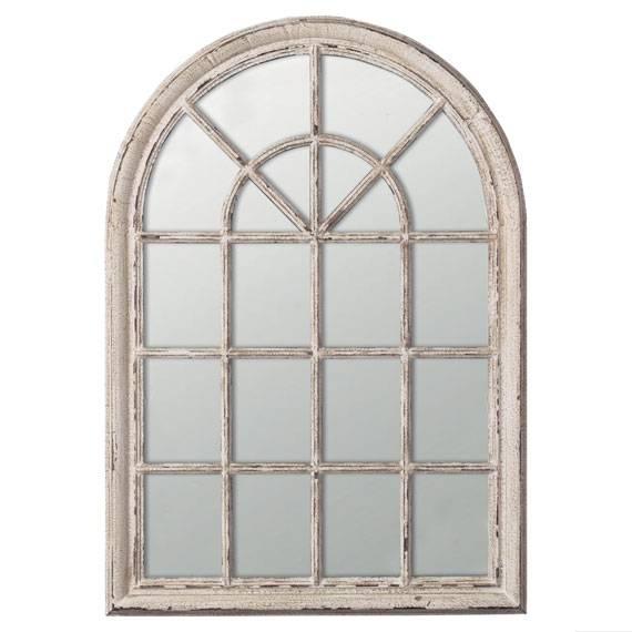 Design Small Window Mirror Wall Decor | Jeffsbakery Basement Pertaining To Window Mirrors (#12 of 30)
