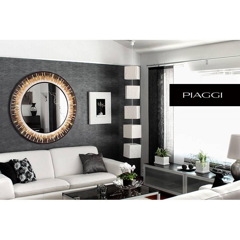 Designer, Round Mirrors : Supernova | Piaggi Store Inside Unusual Round Mirrors (View 10 of 20)