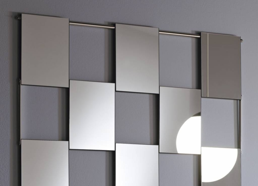 Designer Wall Mirrors Swerve Designer Wall Mirror Nova Lighting With Regard To Modern Contemporary Wall Mirrors (#10 of 15)