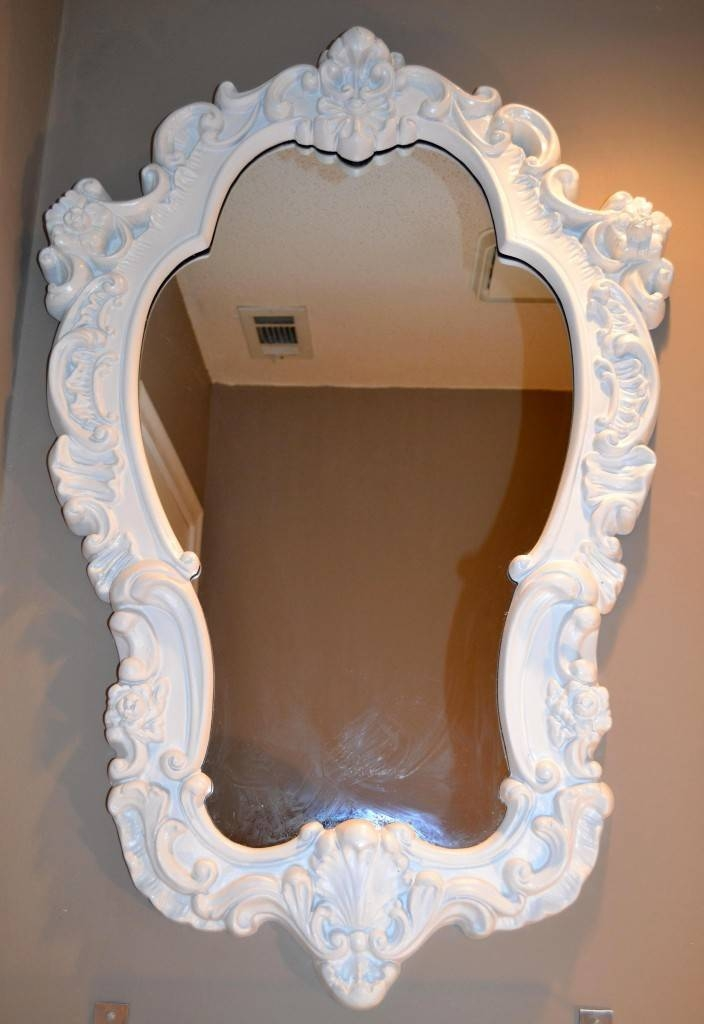 Desire It… Acquire It!! White Ornate Mirror! Not Going For With Regard To White Ornate Mirrors (#9 of 20)