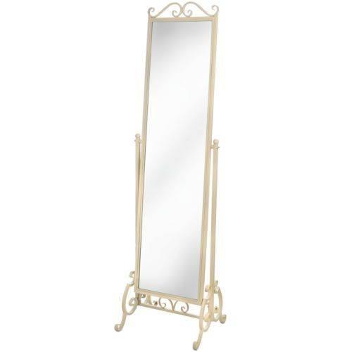 Die Besten 25+ Cream Full Length Mirrors Ideen Auf Pinterest Inside Full Length Cheval Mirrors (View 17 of 20)