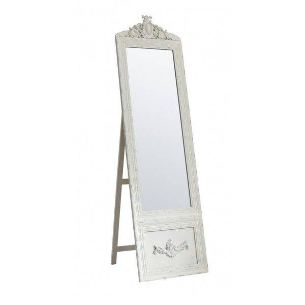 Die Besten 25+ Cream Full Length Mirrors Ideen Auf Pinterest Intended For Full Length Vintage Standing Mirrors (#16 of 20)