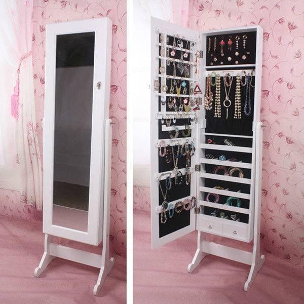 Dining Room Elegant Best 25 Mirror Jewelry Storage Ideas On Inside Long Dressing Mirrors (#11 of 30)