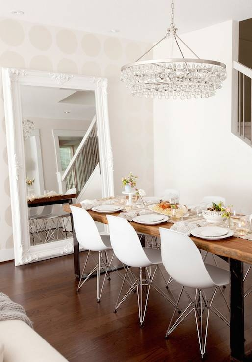 Dining Room Floor Mirror Design Ideas For Bling Floor Mirrors (#16 of 30)
