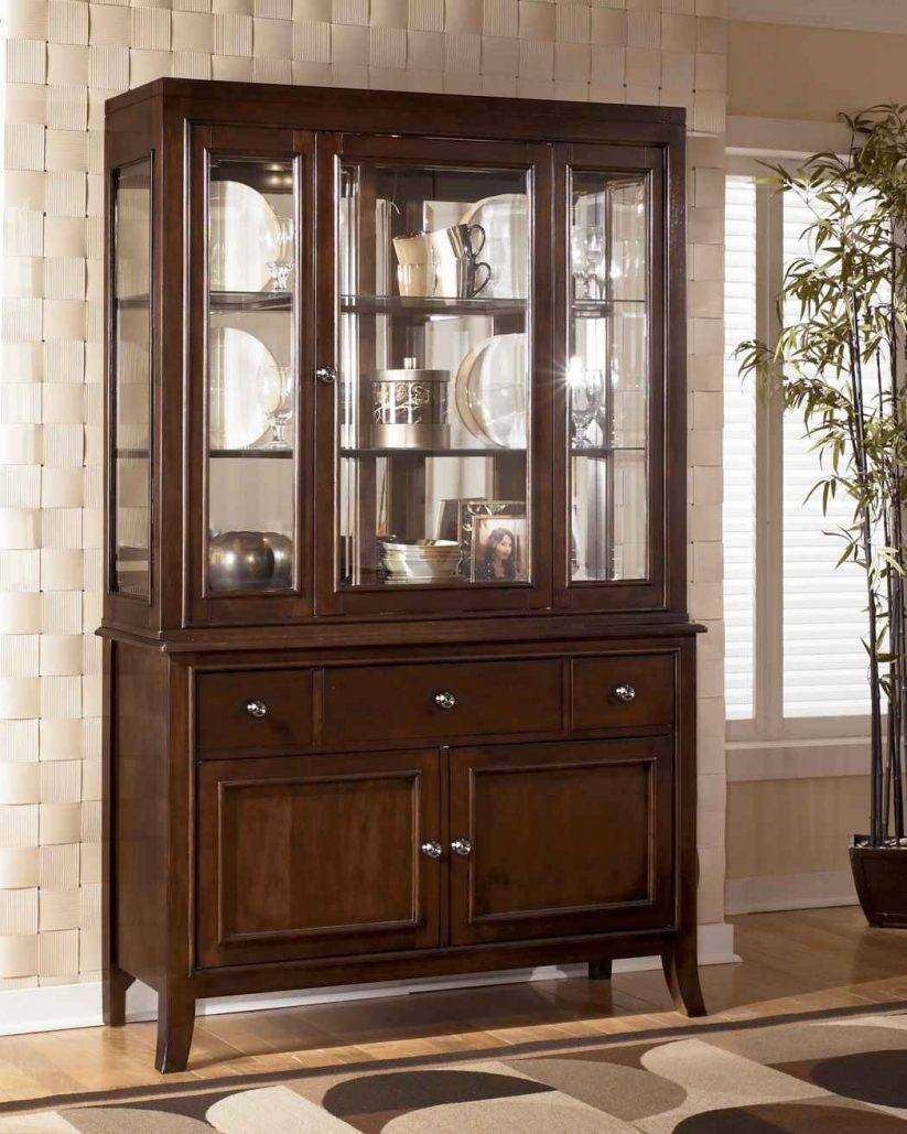 Dining Room : Lovely Sideboard And Hutch Furniture Dining Room With Sideboard With Hutch (#6 of 20)