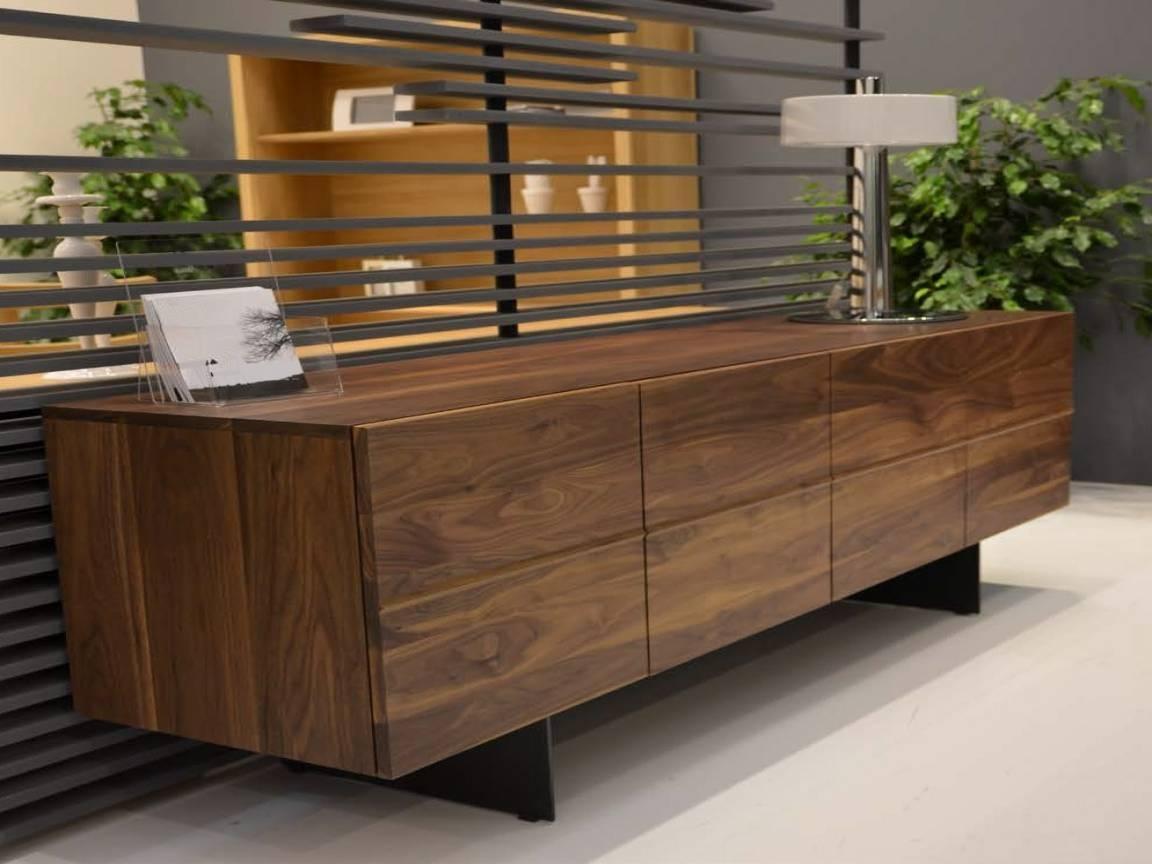 Dining Shelf, Contemporary Walnut Modern Sideboards Walnut Throughout Modern Contemporary Sideboards (#6 of 20)