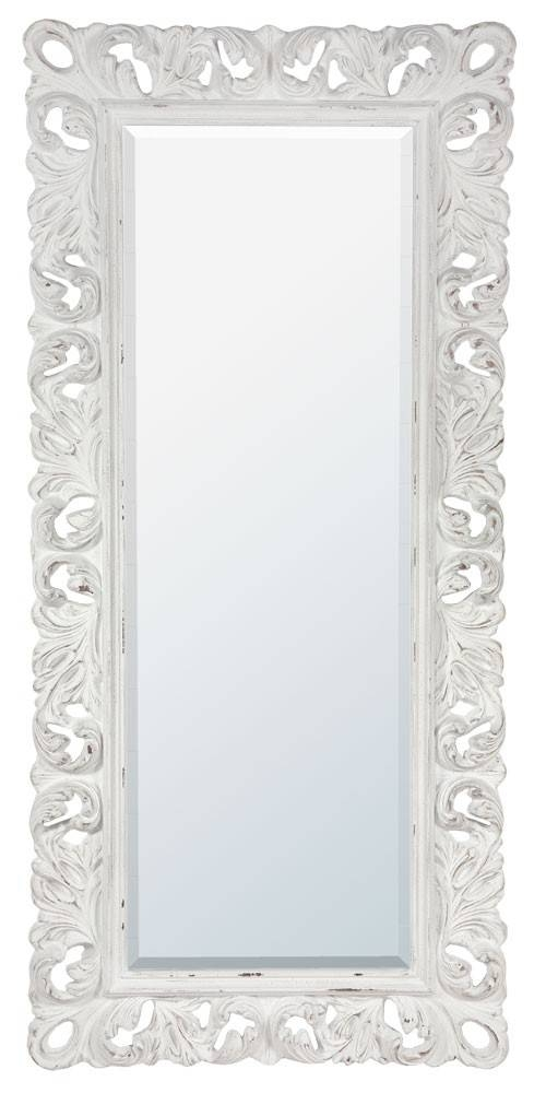 Distinct White Mirrors – In Decors In White Antique Mirrors (#13 of 20)