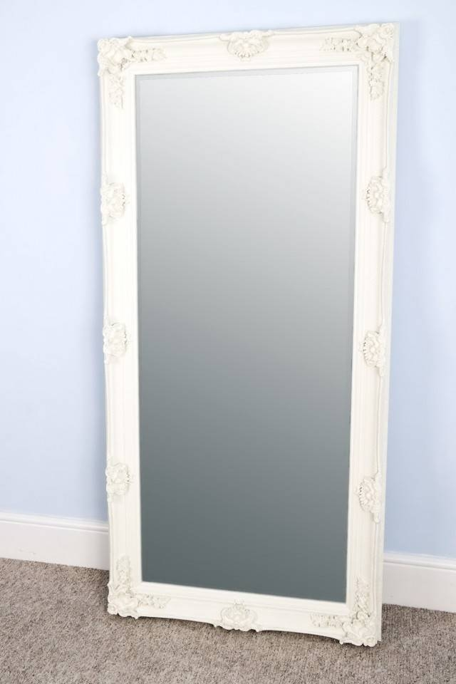 Diy Large Floor Mirror Wall | Home Design Ideas Regarding Large White Floor Mirrors (#20 of 30)