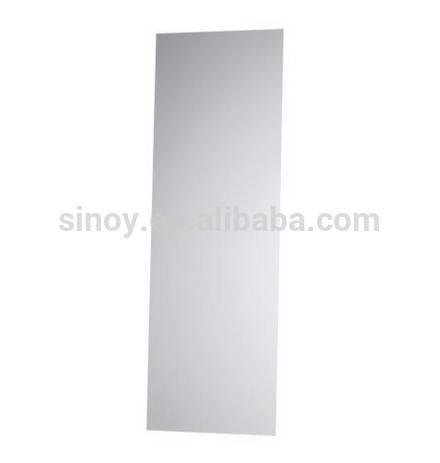 Diy Stick On Wall Frameless Full Length Dressing Mirror – Buy Full With Regard To Full Length Frameless Wall Mirrors (#5 of 20)