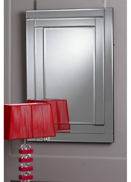 Double Bevel Mirror With Regard To Double Bevelled Mirrors (View 18 of 30)