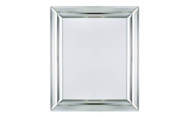 Double Bevelled Mirror Frame 5×7 | Sainsbury's Home Regarding Double Bevelled Mirrors (View 19 of 30)