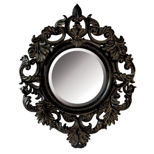 Download Black Decorative Mirrors | Gen4Congress Intended For Black Rococo Mirrors (#16 of 30)