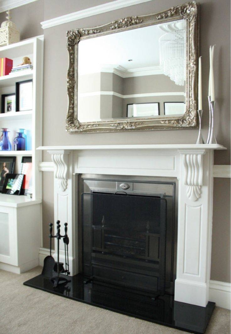 Download Decorative Mirrors For Above Fireplace | Gen4Congress Throughout Mantelpiece Mirrors (#19 of 30)