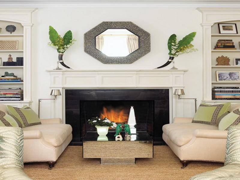 20 best ideas of above mantel mirrors for Mirror for above fireplace mantel