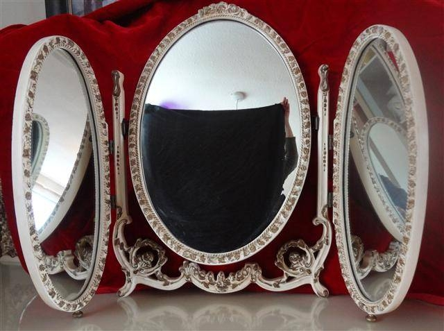 Dressing Table Mirror Louis Style With Regard To French Style Dressing Table Mirrors (#9 of 20)