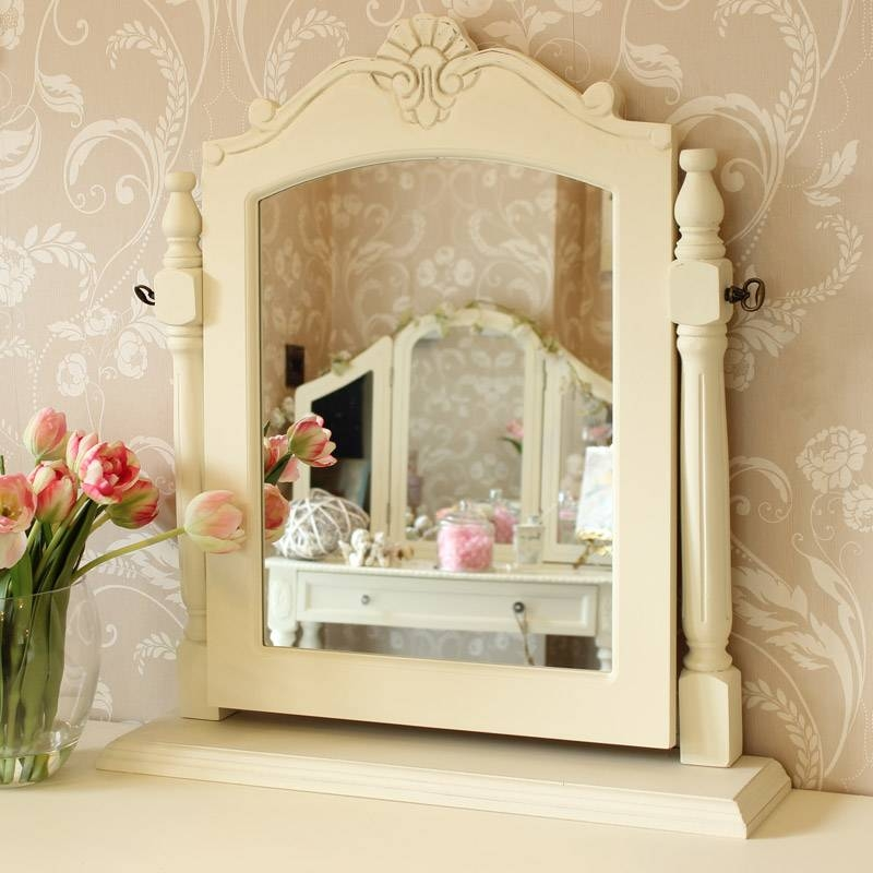 Dressing Table Mirrors – Melody Maison® In Free Standing Dressing Table Mirrors (#17 of 30)