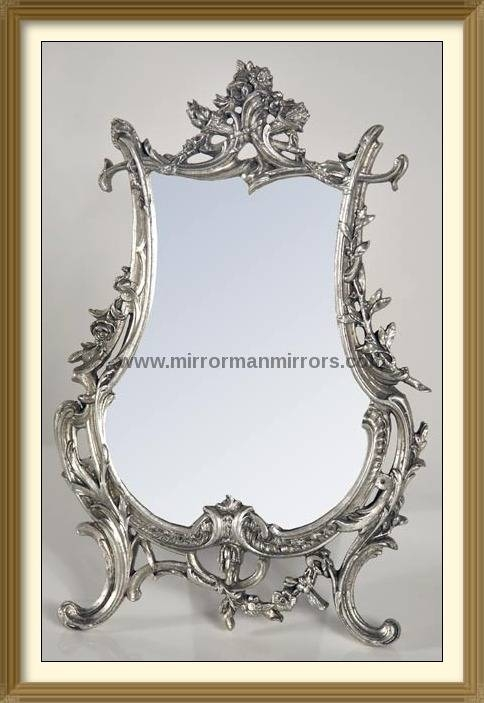 Dressing Table Mirrors With Regard To Silver Dressing Table Mirrors (#10 of 20)