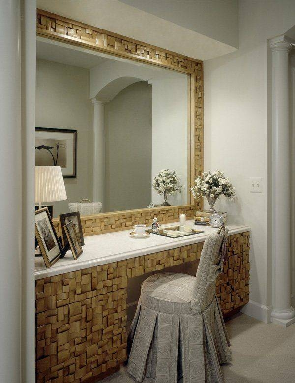 Dressing Table With Mirror — Readingworks Furniture Intended For Dressing Table With Long Mirrors (View 7 of 15)