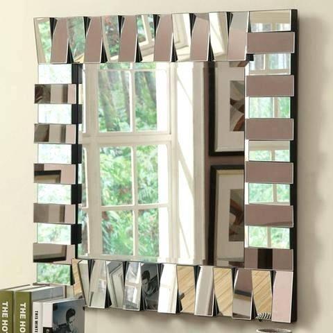 Dubois Large Square Wall Mirrordubois Mirror Extra Mirrors With Large Square Mirrors (#14 of 30)