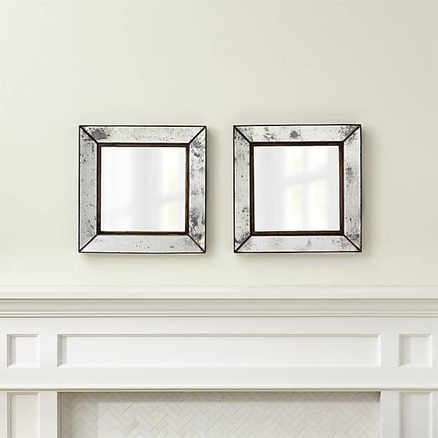 Popular Photo of Square Wall Mirrors