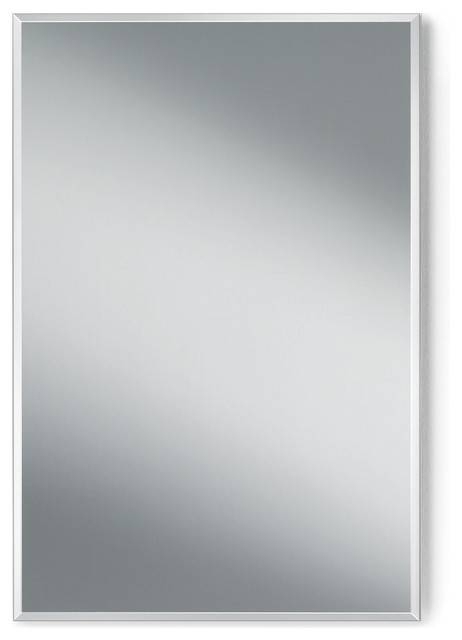 Dwba Wall Vertical/horizontal Frameless Rectangular Bath Vanity Throughout Square Frameless Mirrors (#8 of 30)