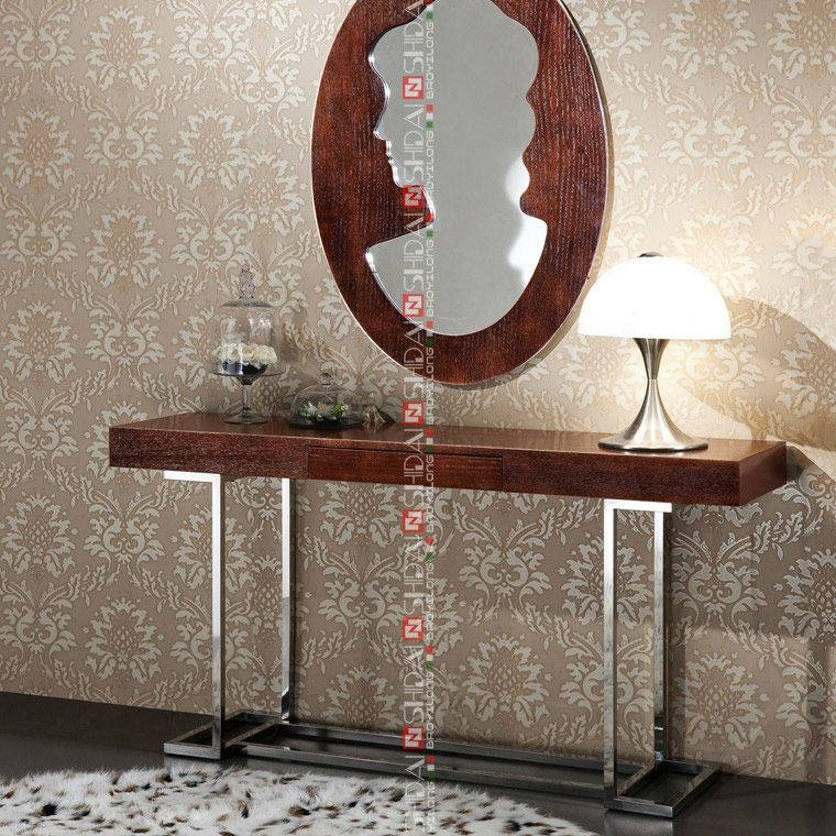 E 162 Modren Stainless Steel Dressing Table Design – Buy Metal Throughout Decorative Dressing Table Mirrors (#16 of 20)