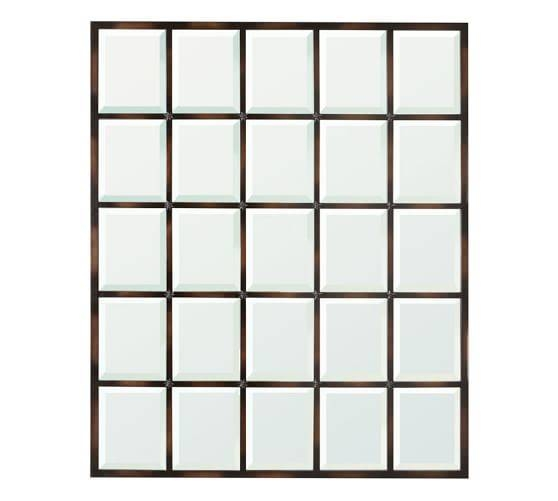 Eagan Multipanel Large Mirror – Bronze | Pottery Barn Regarding Large Bronze Mirrors (#16 of 30)