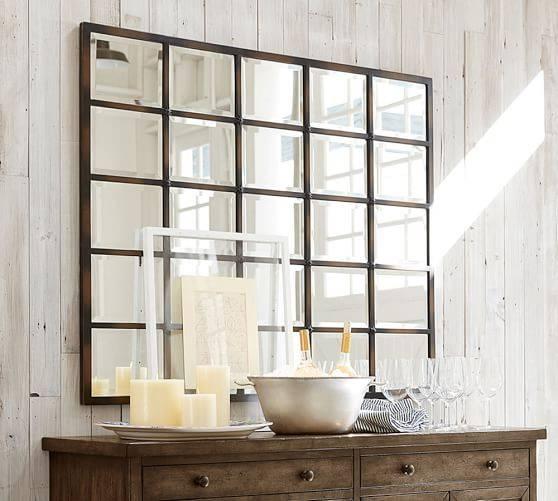 Large Mirror Over Dresser