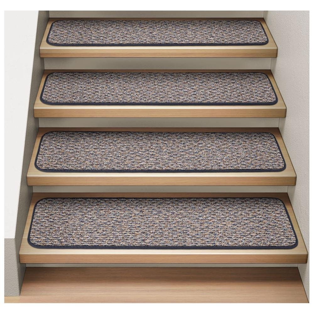 Easy Installing Carpet Stair Treads Home Design Larizza Inside Stair Tread Carpet Covers (#4 of 20)