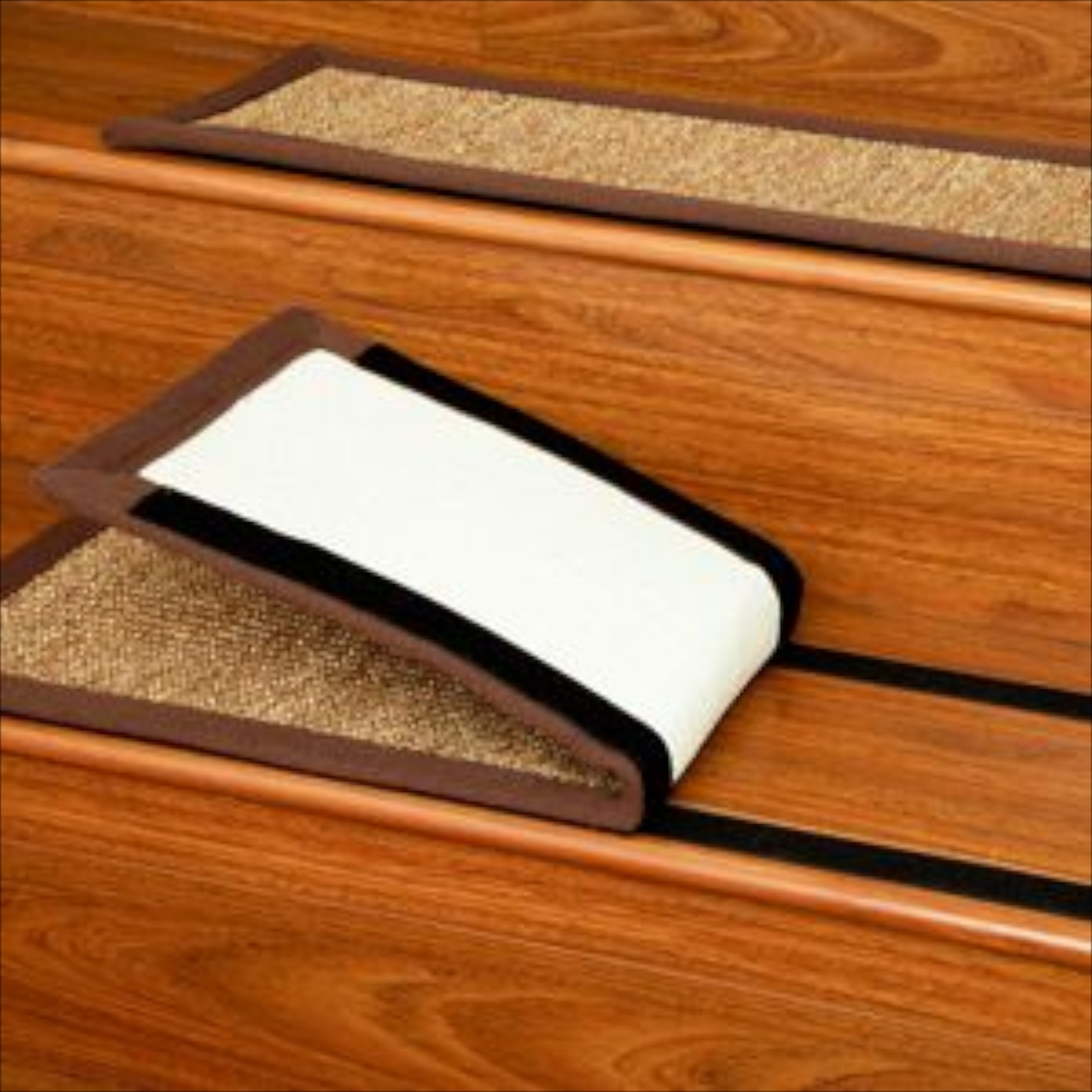 Easy Installing Carpet Stair Treads Home Design Larizza Regarding Carpet Step Covers For Stairs (#7 of 20)