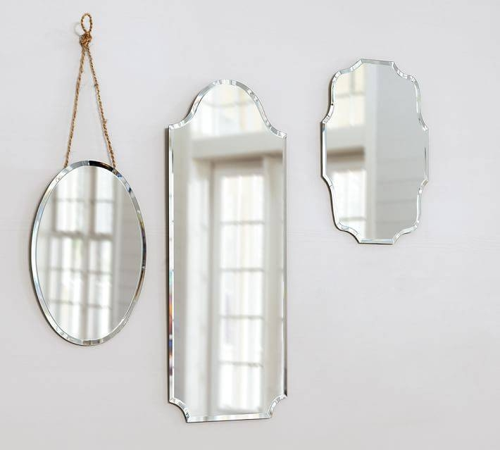 Popular Photo of Frameless Wall Mirrors