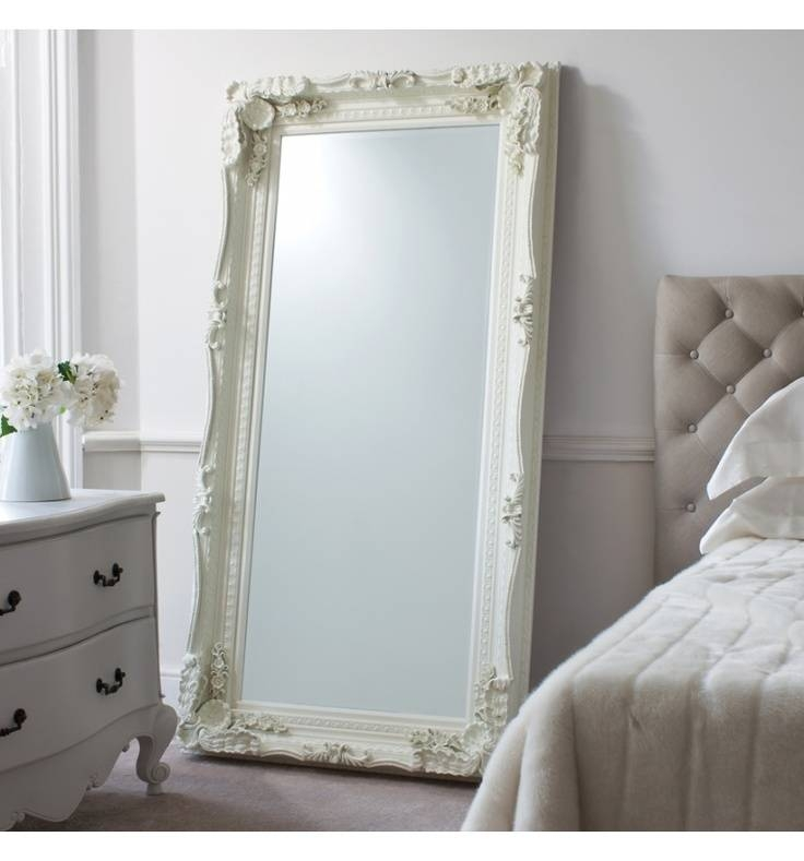 30 Best Ideas Of Shabby Chic Floor Standing Mirrors
