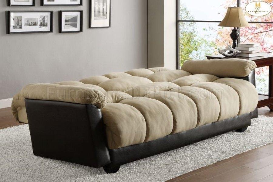Elegant Lounger Sofa Bed 4802mfr Homelegance With Sofa Lounger Beds (#7 of 15)