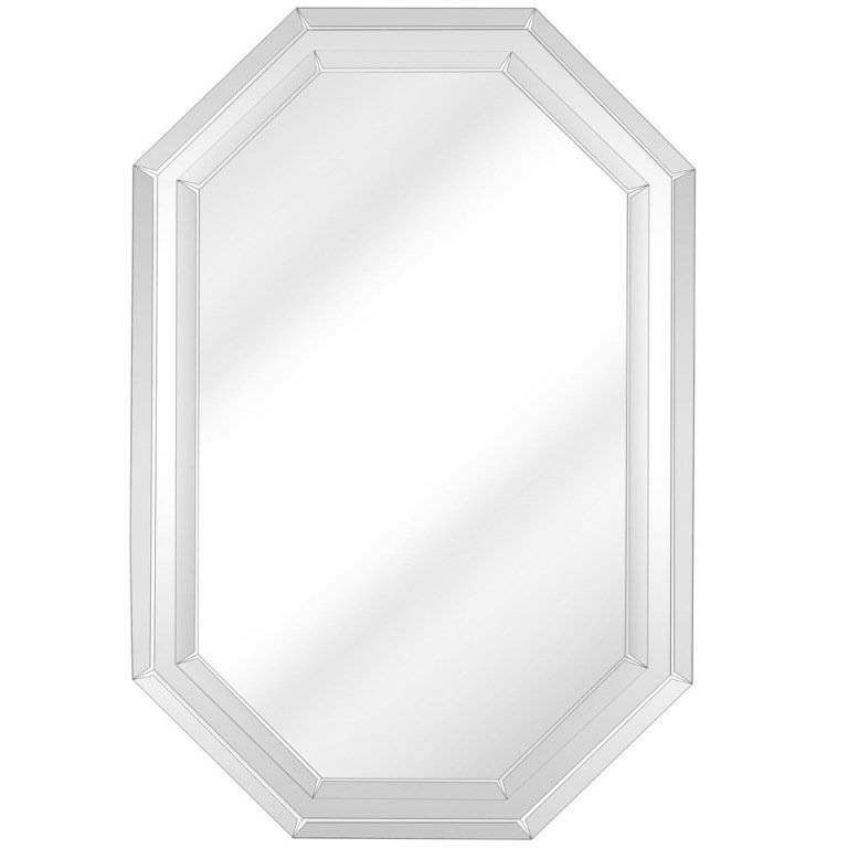 Elegant Mirror With Double Bevel Design At 1Stdibs Regarding Double Bevelled Mirrors (View 20 of 30)